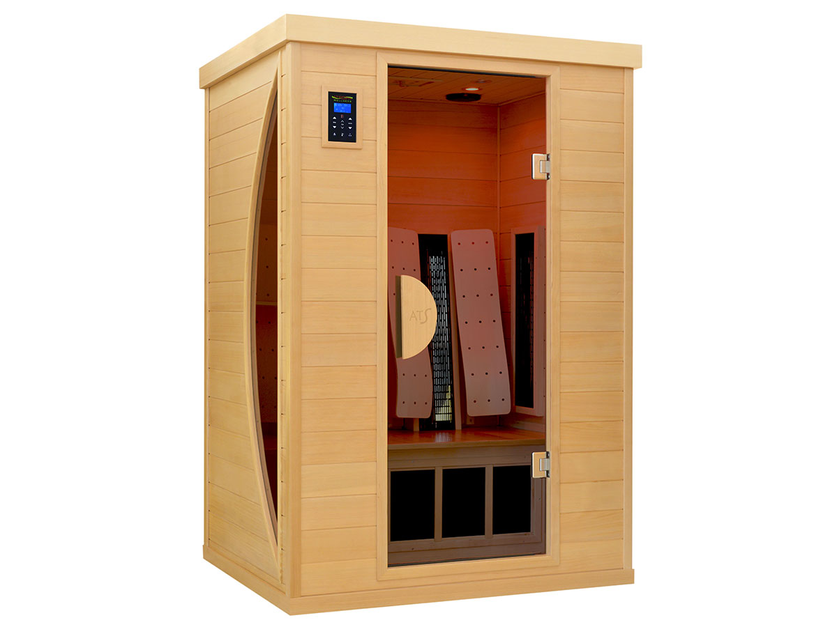 infrarotkabine ats 2 premium therapie infrarotkabine mit tiefenw rme. Black Bedroom Furniture Sets. Home Design Ideas